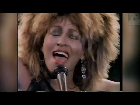 Tina Turner - 1985 Private Dancer Tour (3/4)