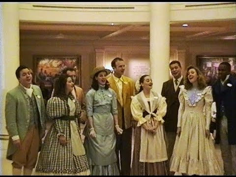 Voices of Liberty * Epcot The American Adventure * Walt Disney World * January 1996