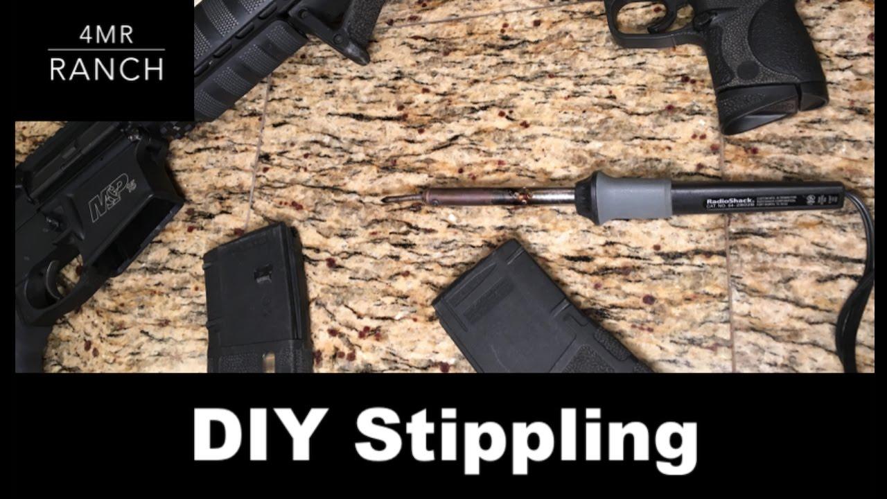 EASY At Home Gun Upgrade