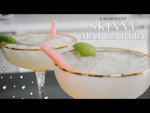 SKINNY MARGARITA | My Simple, 3-Ingredient Cocktail Recipe