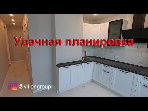 Удачная планировка. Ремонт во вторичке под ключ. Стоимость ремонта квартир в Москве
