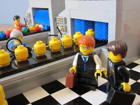Lego Factory at Lego Land California - Robot making Legos - YouTube