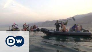 نشاط رياضي لإنقاذ البحر الميت | الأخبار