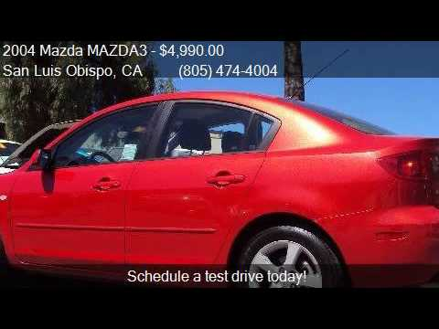 Great 2004 Mazda MAZDA3 I 4dr Sedan For Sale In San Luis Obispo, C