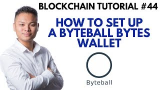 Blockchain Tutorial #44 - How To Setup A Byteball Bytes Wallet