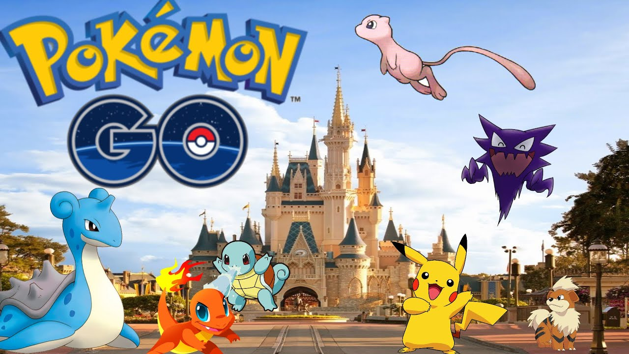 pokemon go disneyland best place on earth to play pokemon go youtube. Black Bedroom Furniture Sets. Home Design Ideas