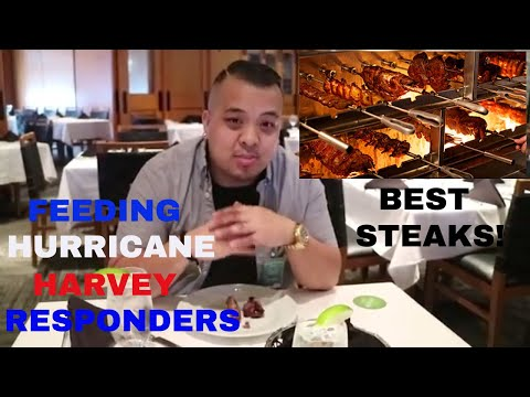 Fogo De Chao Review. Feeding The First Responders Of Hurricane Harvey