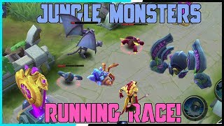 All Jungle Monsters Running Race Tournament! Mobile Legends - Bang Bang