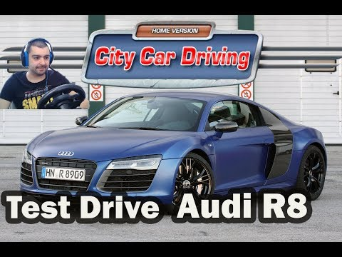 Audi R8 V10 Plus /Test Drive/ City Car Driving #6