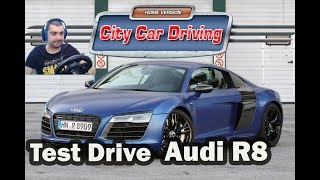 Audi R8 V10 Plus /Test Drive/ City Car Driving #6