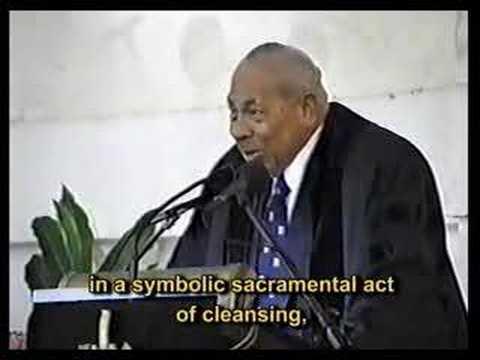 Sermon by H.M. Late King Taufa'ahau Tupou IV of Tonga