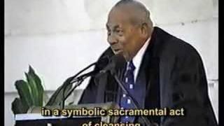 Sermon by H.M. Late King Taufa