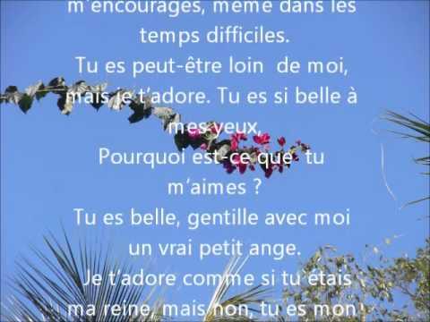 Lettre d'amour: A toi mon adoree - YouTube