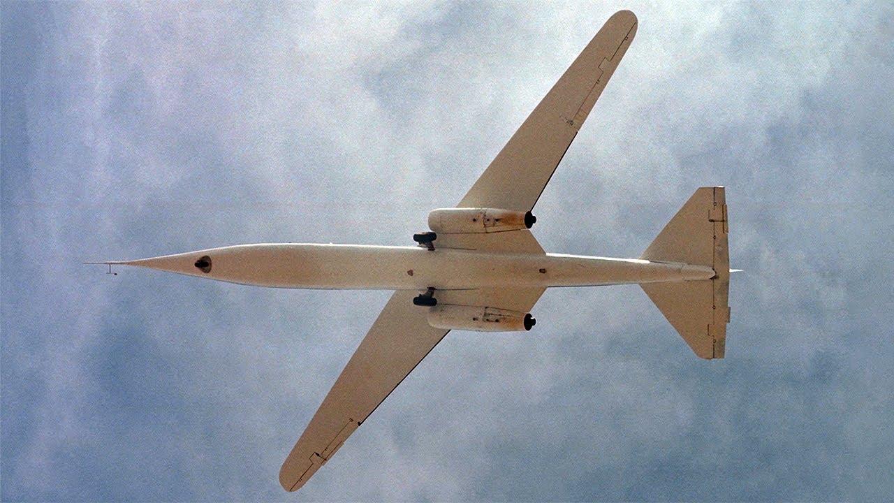 Scissor Wing Jet - NASA AD-1