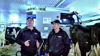 Roboleo de Milkomax à la ferme Marny