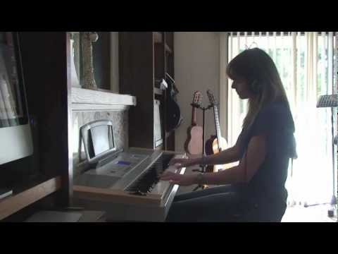 A-ha 'Manhattan Skyline' piano cover (Dawnie)