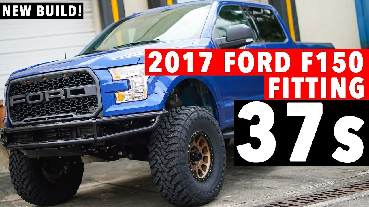2017 Ford F150 on 37inch Tires! ECOBOOST! CHEAP LIFT