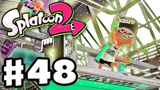 Splatoon 2 - Gameplay Walkthrough Part 48 - Tower Control! (Nintendo Switch)