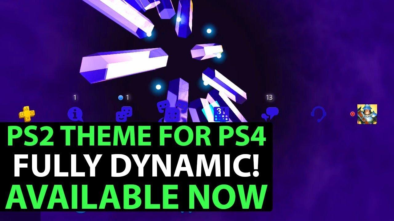 ps4 ps2 dynamic theme download