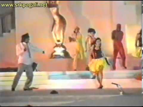 Filmfare Awards 1993 - Shah Rukh Khan & Kajol _ Baazigar - Yeh Kaali Kaali Aankhen Performance Live