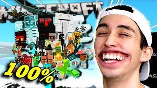 Tapoin KAIKKI HIRVIÖT Minecraftissa!