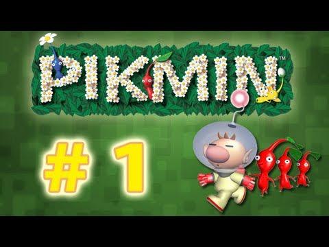 """Guia Pikmin 1 Wii - # 1 """" El comienzo , Pikmin Rojos y Amarillos """""""