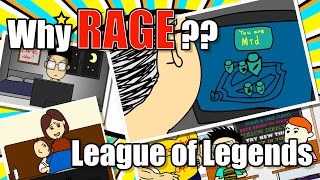 Why do people rage in LOL ~Funny League of Legends Animation 2017~ ~Money K Animated Story~