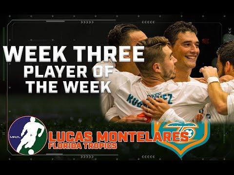 Week 3 Player of the Week - Lucas Montelares