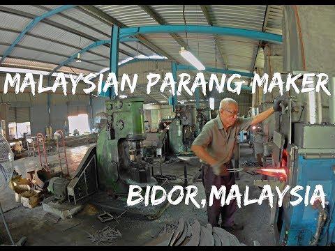 Malaysian Parang Maker - Bidor Malaysia