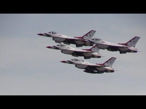 USAF Thunderbirds .. California Capital Airshow 2015