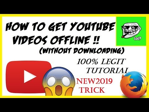 How To Get YouTube Videos Offline (WITHOUT DOWNLOADING!) | YouTube Hack (100%LEGIT) | Tutorial
