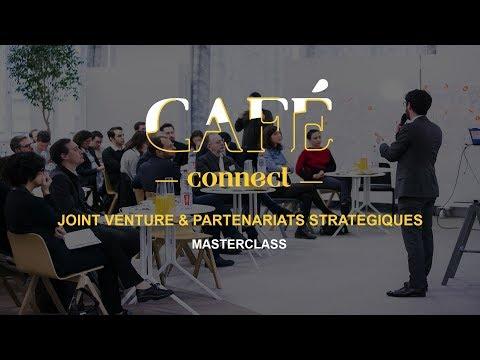 Partenariats stratégiques & Joint Venture : Masterclass   Cafe Connect   Le Hub Bpifrance