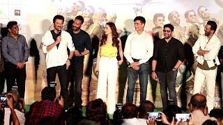 TOTAL DHAMAAL Official Trailer Launch Complete Video HD-Ajay Devgn,Jhonny Lever,Arshad Warsi,Madhuri