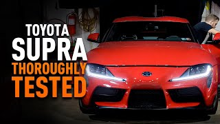 homepage tile video photo for Thoroughly Tested -  The Mishimoto 2020+ Toyota Supra Heat Exchanger