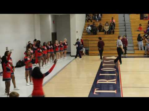 Berkmar High School Cheerleaders 11-10-16