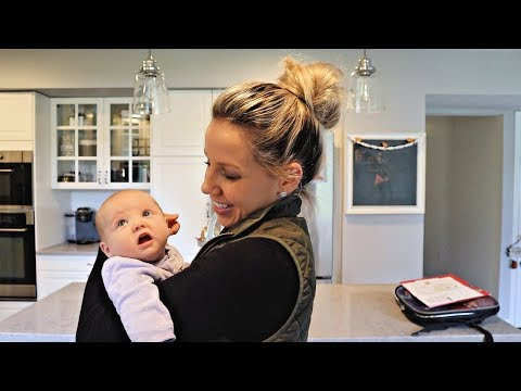 DAY IN THE LIFE WITH A NEWBORN AND TWO TODDLERS // BEAUTY AND THE BEASTONS thumbnail