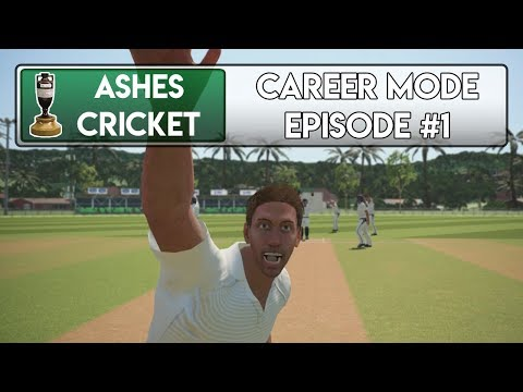THE DEBUT - Ashes Cricket Career Mode #1