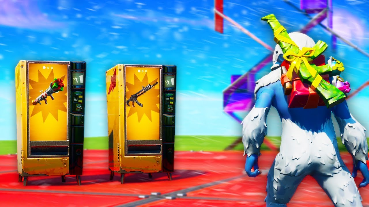 *NEW* Unreleased Weapons 1v1 Fortnite Creative Map ...