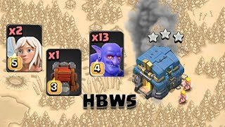 TH12 3 Star Bowler Siege Machin Attack Strategy And Guide | Th12 War 3 Star Attack/Clash Of Clans