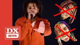 J. Cole Puts A Stop To 'Fuck Lil Pump' & 'Fuck 6ix9ine' Chant At His Show