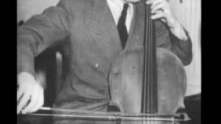 Emanuel Feuermann, cello - Hindu Song (Rimsky-Korsakov)