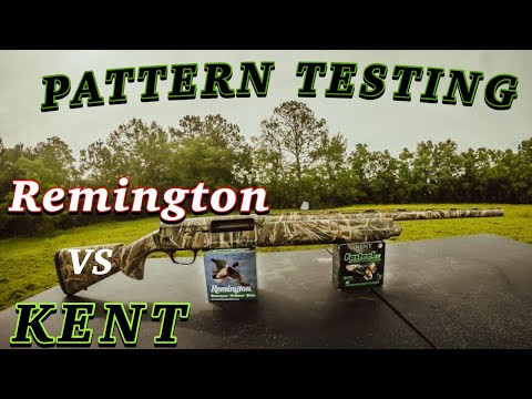 Which Shotgun Shell Will Pattern The Best? KENT Vs Remington