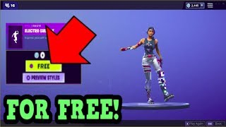 HOW TO GET ELECTRO SHUFFLE EMOTE FOR FREE! (Fortnite Old Emotes)