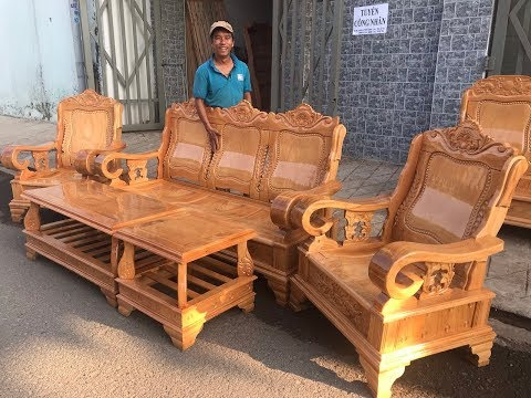 Salon thùng mẫu thiên tuế gỗ gõ đỏ giá chỉ 19tr500k