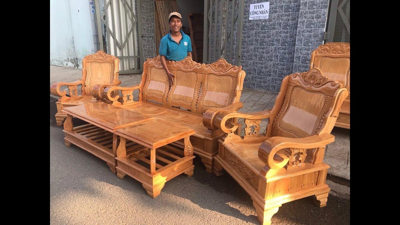 Salon thùng mẫu thiên tuế gỗ gõ đỏ giá chỉ 19tr500k   Salon và các thông tin mới nhất