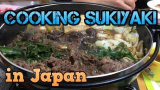 Delicious Japanese Sukiyaki すき焼き
