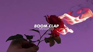 charli xcx, boom clap (slowed + reverb)