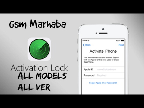 How To iCloud Bypass iPhone All Models by Gsm Marhaba