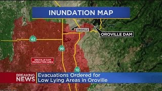 Nearly 200,000 evacuate near Oroville Dam spill