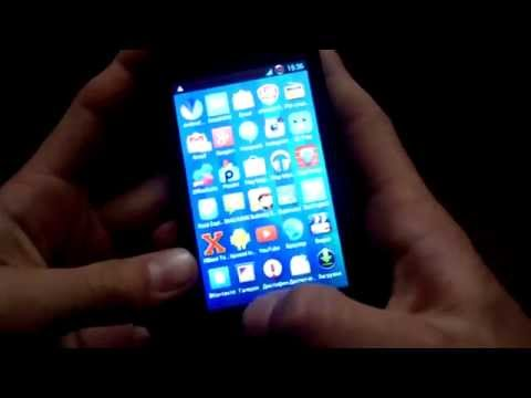 Делаем прозрачный статус бар на смартфоне PAP4040DUO